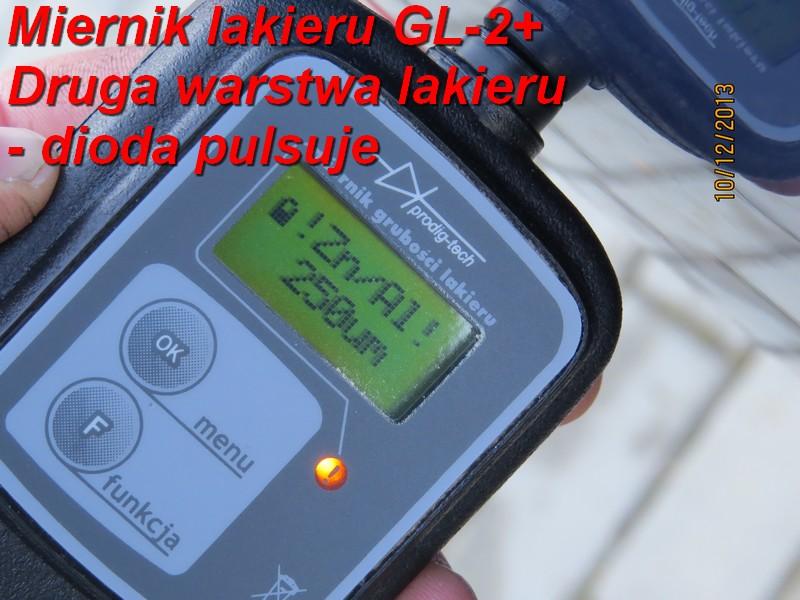 miernik grubości lakieru GL-2+