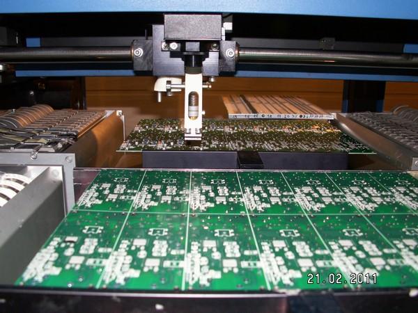 Montaż SMT, SMD - Prodig Tech - produkcja mierników grubości lakieru