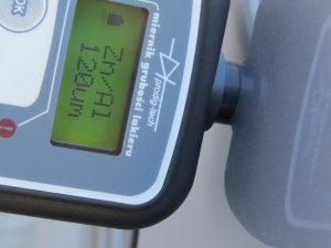 Miernik grubości lakieru GL-2+, tester lakieru
